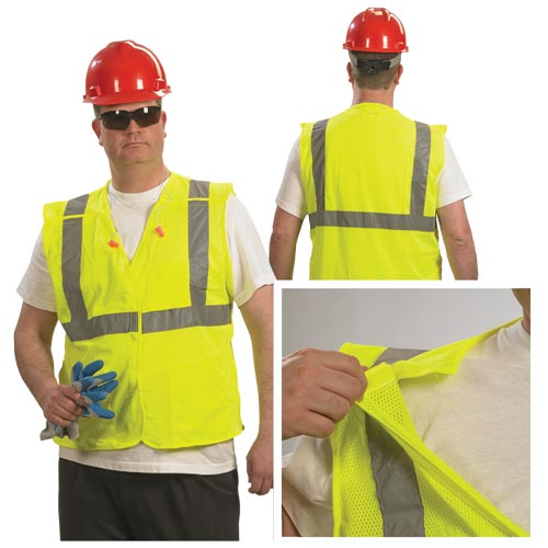 Type R Class 2 Breakaway Safety Vest by PIP (07358)