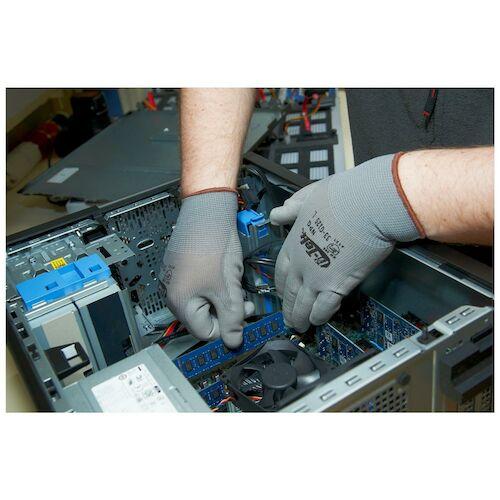 G-Tek® Flat-Dip Polyurethane Coated Seamless Knit Glove (07364)