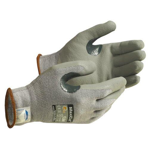 MaxiCut® Flat-Dip Nitrile Coated Seamless Knit Dyneema® Glove (07366)