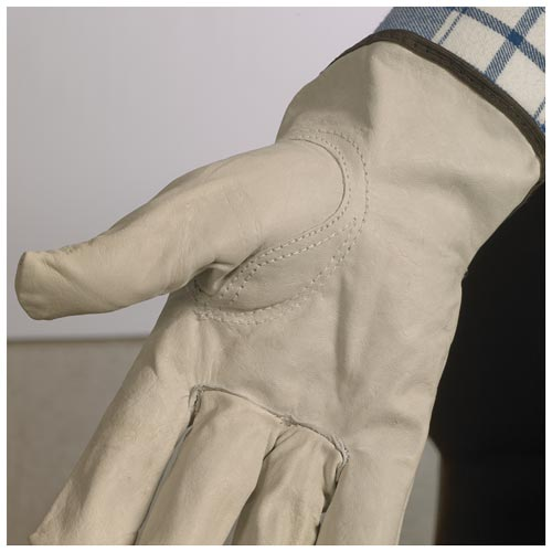 Top Grain Cowhide Leather Driver Glove - Keystone Thumb (07368)
