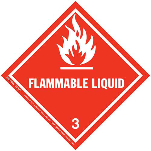 how to keep flammable liquids store