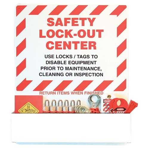 STOPOUT® Lockout Center - Aluminum Pocket Board (07428)