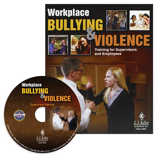 Workplace Bullying and Violence: Training for Supervisors and Employees - DVD Training (07660)