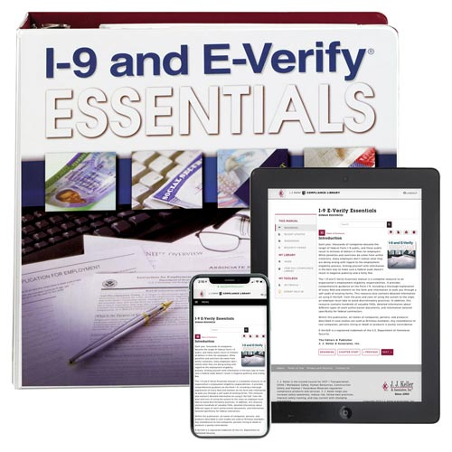 I-9 and E-Verify Essentials Manual (07237)