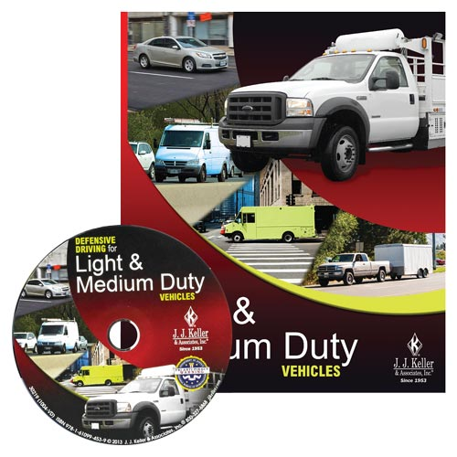 Defensive Driving for Light & Medium Duty Vehicles - DVD Training (07695)