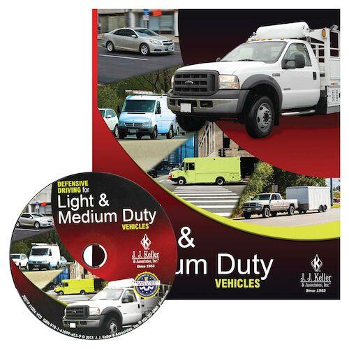Defensive Driving for Light & Medium Duty Vehicles - DVD Training (07695)