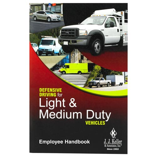 Defensive Driving for Light & Medium Duty Vehicles Training Program - Employee Handbook (07701)