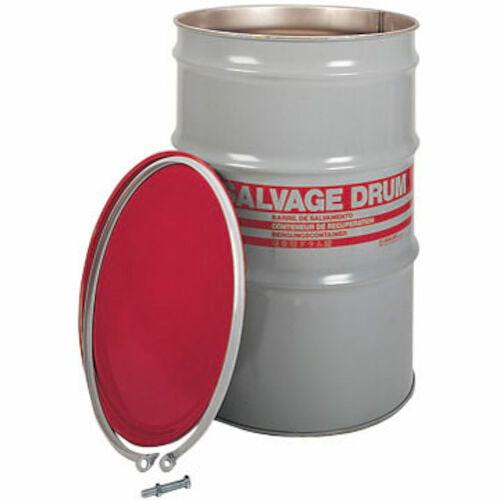 Hazmat Salvage Steel Drum - 85 Gallons (03779)
