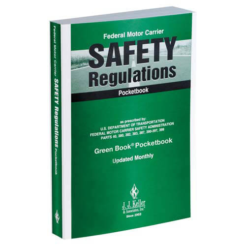 Fmcsr pocketbook federal motor carrier safety regulations for Federal motor carrier safety regulations