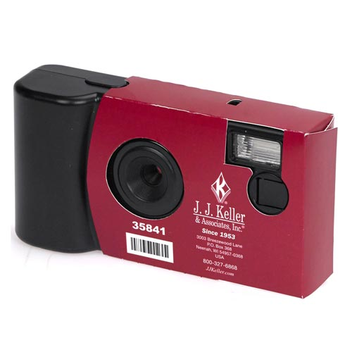 Single-Use 3.0 Megapixel Digital Camera For Accident Response (07805)