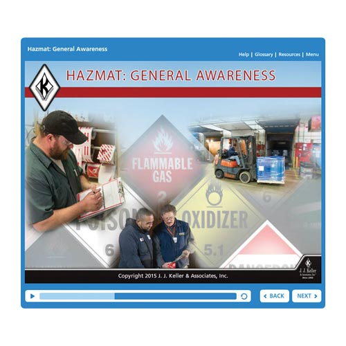 Hazmat: General Awareness - Online Training Course (07978)