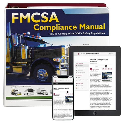 FMCSA Compliance Manual (00999)