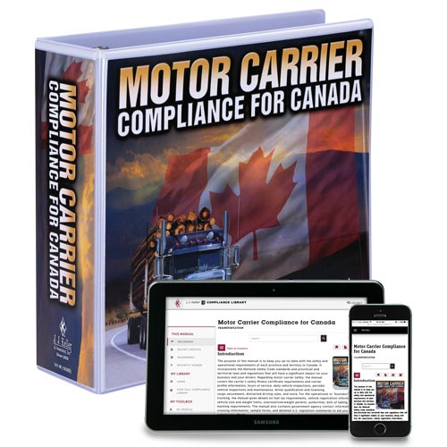 Motor Carrier Compliance For Canada Manual