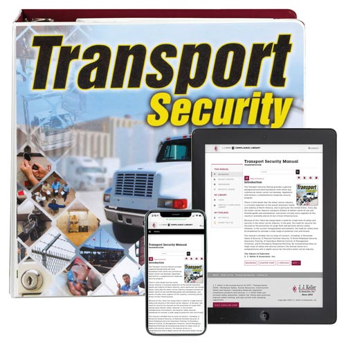 Transportation Security Manual (01317)
