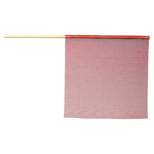 Warning Flag - Vinyl-Coated Polyester Mesh (01117)