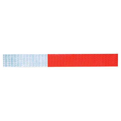 "Conspicuity Tape Strips for Trailers - 11"" Red / 7"" White, 3M™ Diamond Grade™ (01055)"