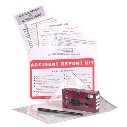 Accident Compliance Kit in Poly Bag w/ 35mm Film Camera (00221)