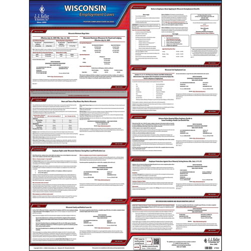 2019 Wisconsin & Federal Labor Law Posters (04000)