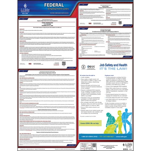 2020 Federal Labor Law Poster - No FMLA (00655)