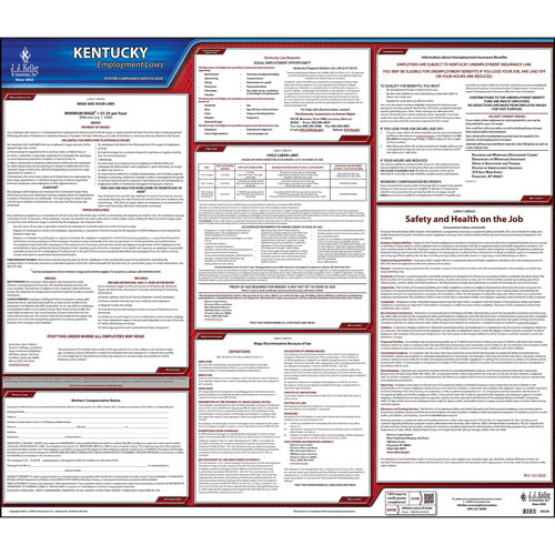 2019 Kentucky & Federal Labor Law Posters (03955)
