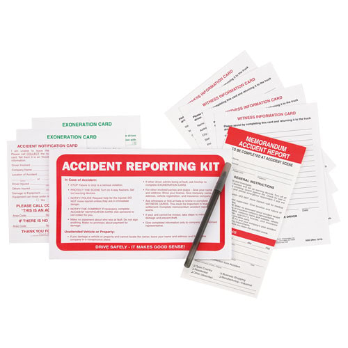 Memorandum Accident Report Kit in Envelope - No Camera (01587)