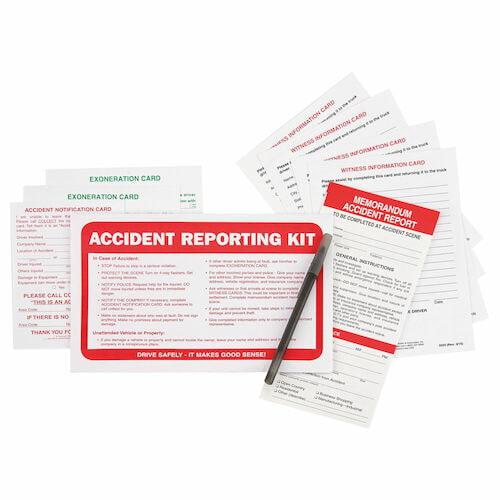 Memorandum Accident Report Kit in Envelope - No Camera (01587)