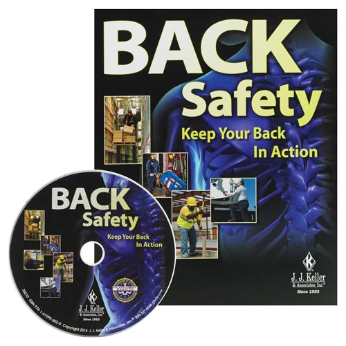Back Safety: Keep Your Back In Action - DVD Training (08411)