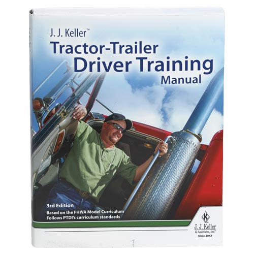 Tractor-Trailer Driver Training Manual (01073)