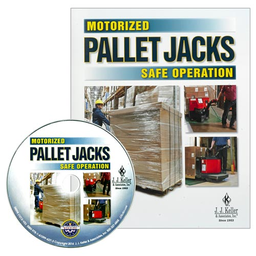 Motorized Pallet Jacks: Safe Operation - DVD Training (08419)