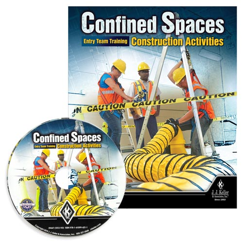 Confined Spaces: Entry Team Training - Construction Activities - DVD Training (08422)