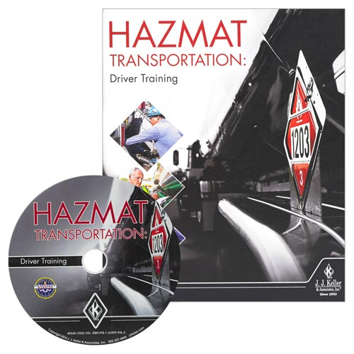 Hazmat Transportation: Driver Training - DVD Training (08426)