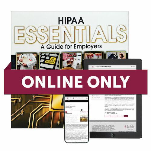 HIPAA Essentials Online Edition (00065)