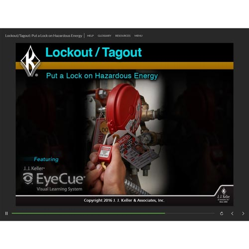 Lockout/Tagout: Put a Lock on Hazardous Energy - Online Training Course (08687)