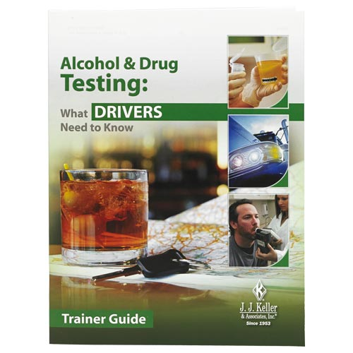 Alcohol & Drug Testing: What Drivers Need to Know - Trainer Guide (08883)
