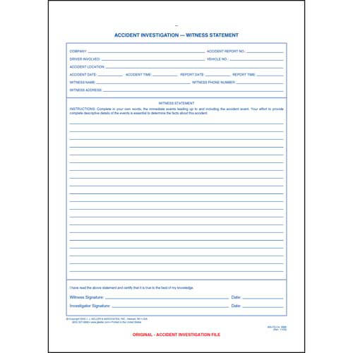 Accident investigation witness statement accident investigation witness statement 01170 thecheapjerseys Image collections