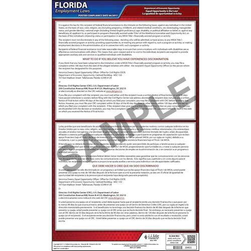 Florida EEO Poster (04937)