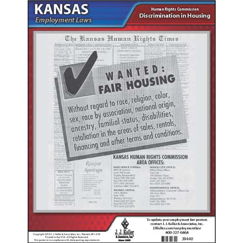 Kansas Fair Housing Poster (04943)