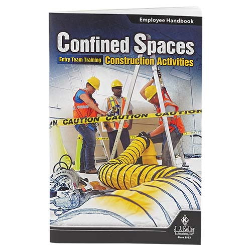 Confined Spaces: Entry Team Training - Construction Activities - Employee Handbook (08612)