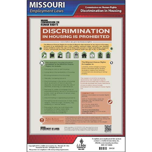missouri discrimination in housing poster
