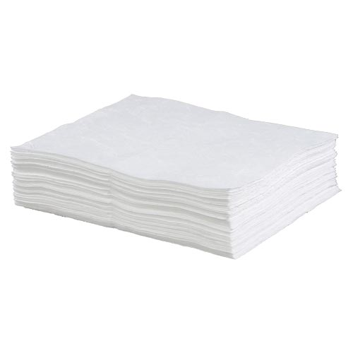 Classic Medium Weight Oil-Only Sorbent Pads - Box of 100 (08629)