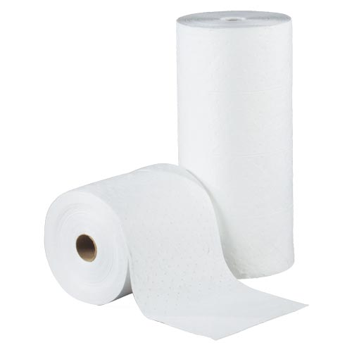 Classic Medium Weight Oil-Only Sorbent Rolls - Box of 2 (08630)