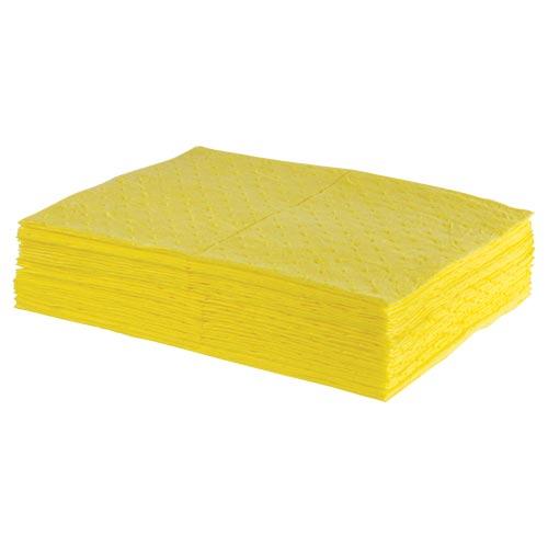 Classic Medium Weight Hazmat Sorbent Pads - Box of 100 (08631)