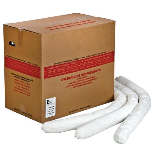 Oil-Only Super Flake Sorbent Socks - Box of 10 (08637)