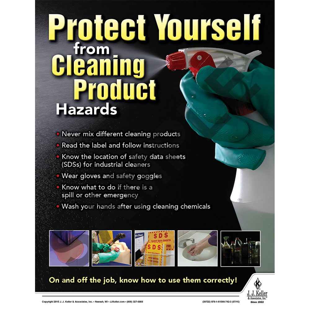 Product Hazards - Workplace Safety Advisor Poster (08735)