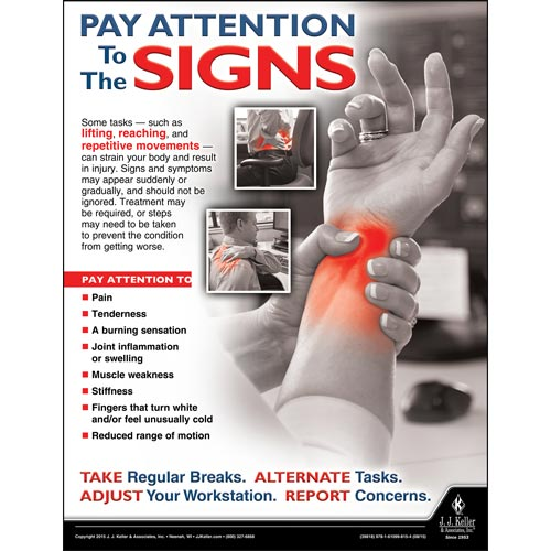 Signs - Health & Wellness Awareness Poster (08844)