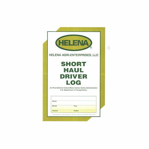 Short Haul Driver Log (017772)