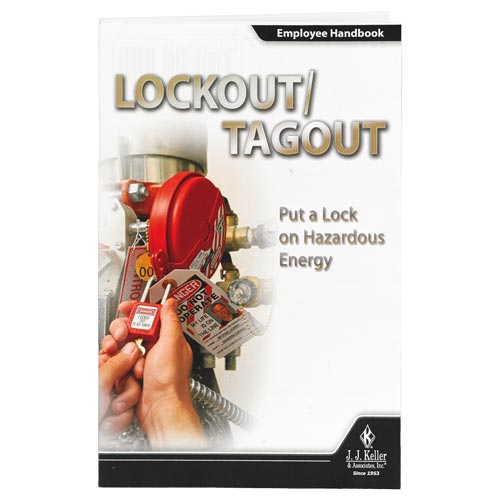 Lockout/Tagout: Put a Lock on Hazardous Energy - Employee Handbook (08683)