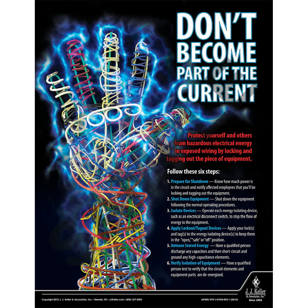 Current - Workplace Safety Training Poster (08796)