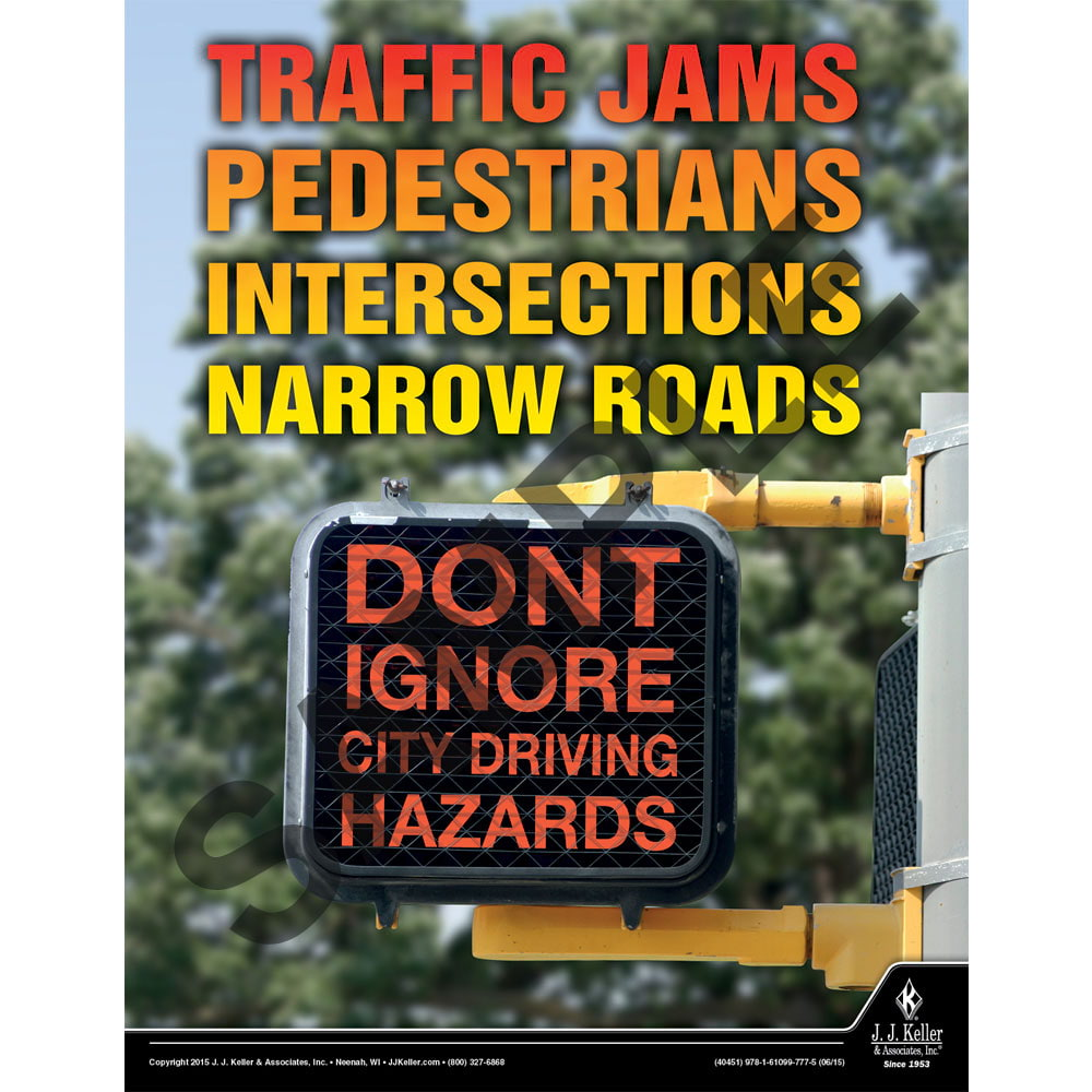 Traffic Jams - Transportation Safety Poster (08782)