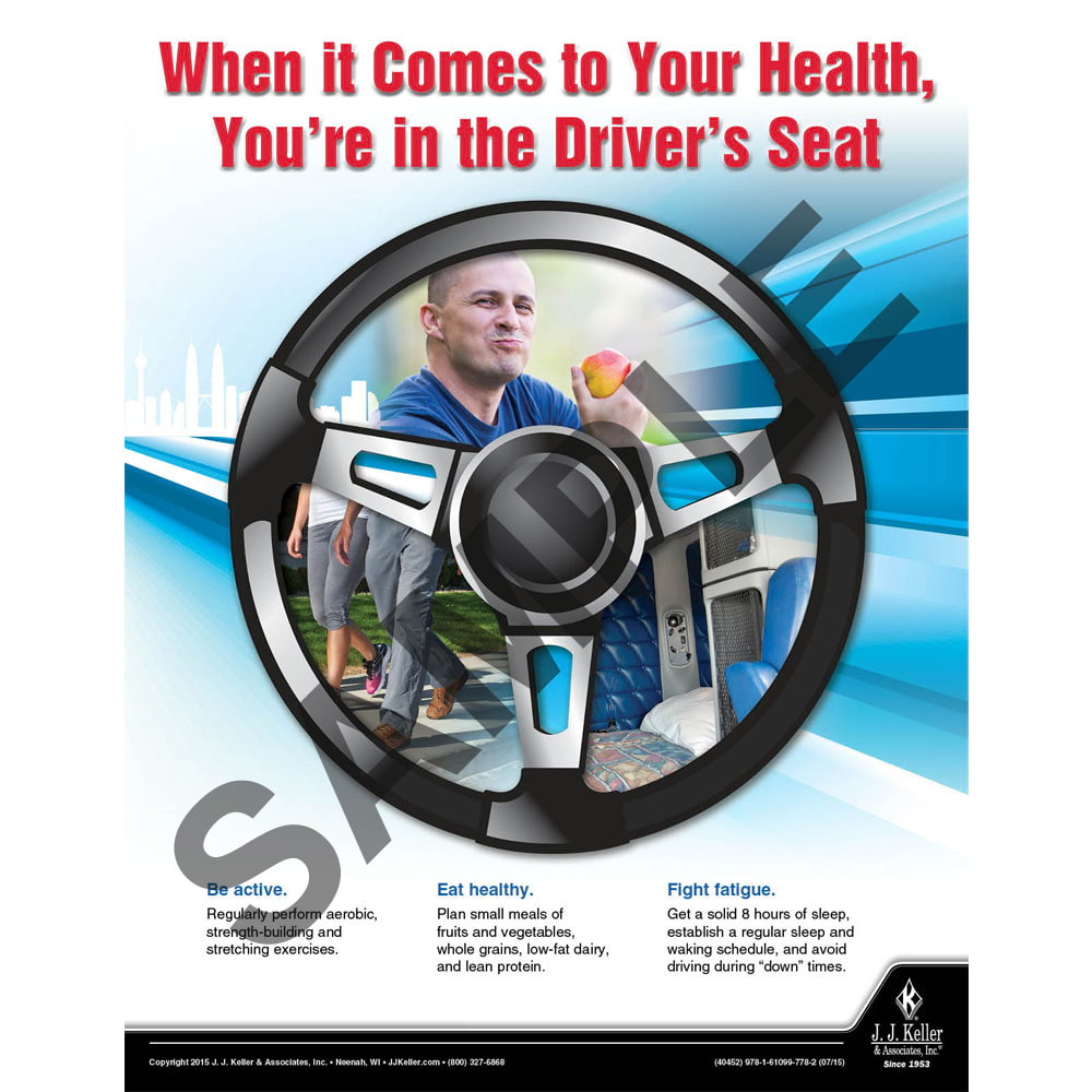 Your Health - Transportation Safety Poster (08783)